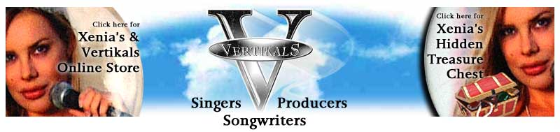 Vertikals: Singers, Songwriters & Producers - Xenia Seeberg Personal Private Collection of Pictures, Photographs, CD, Posters, Button, Key Chain, Pen and Mouse Pad